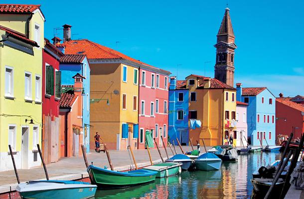 The lagoon of Venice : Murano, Burano, Torcello