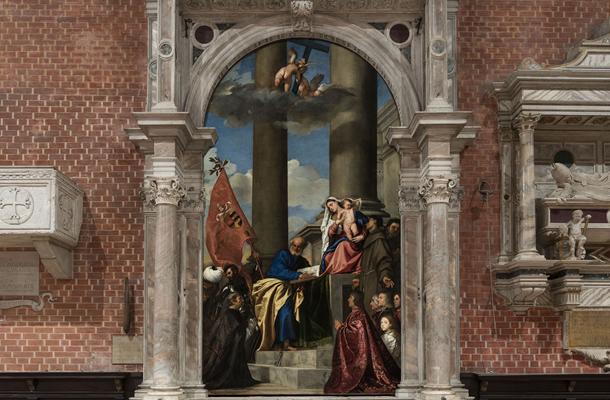 San Rocco and Frari Church