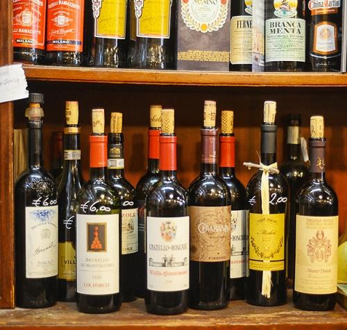 Venice food tour: wines