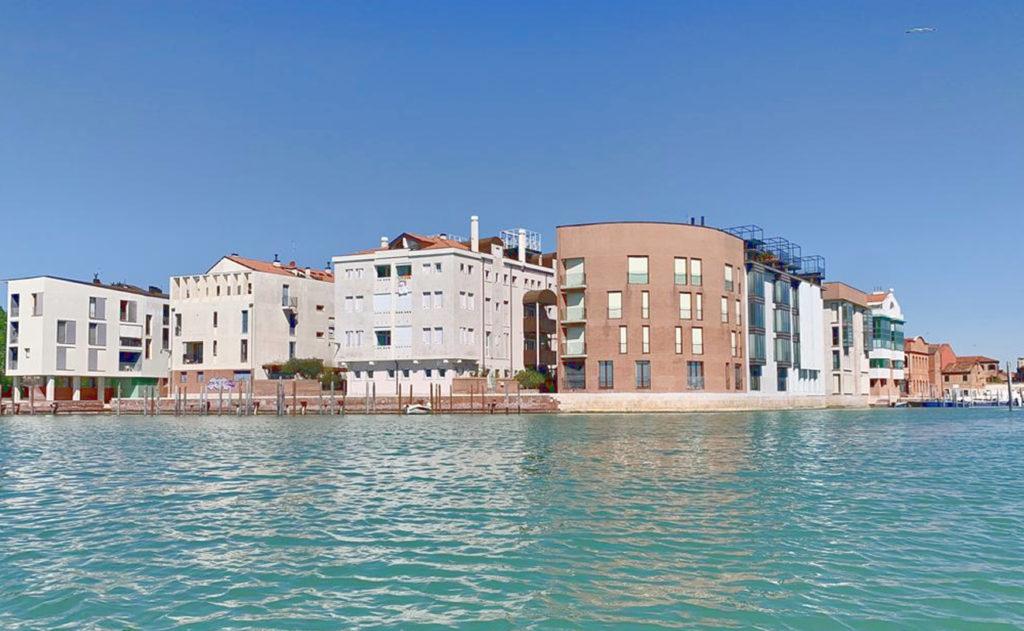 Contemporary architecture: Giudecca and Cannaregio