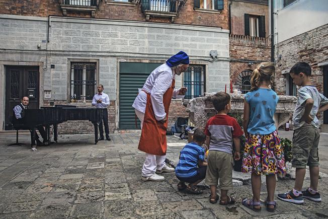 Discovery walk through Venice especially designed for children