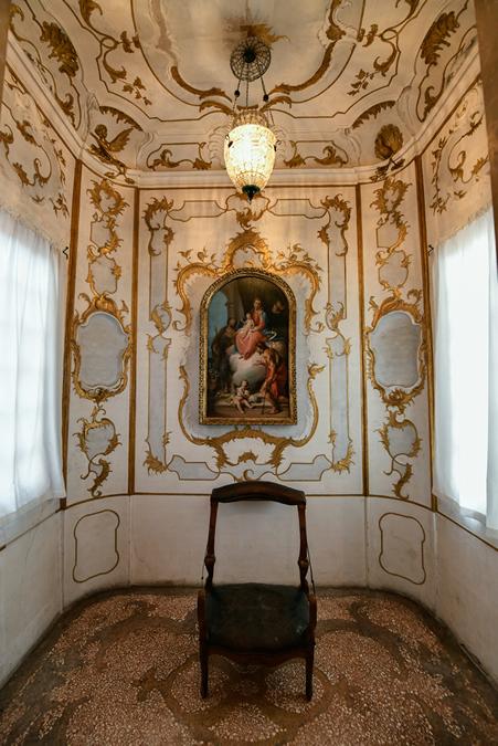 Venetian private heritage: ca Rezzonico
